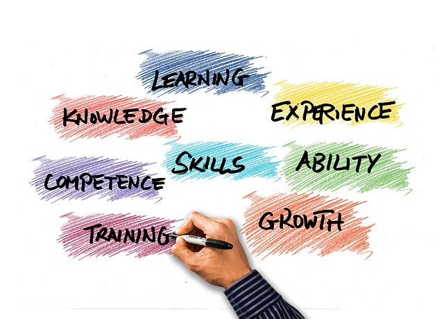 Learning Knowledge Experience Skills Ability Competence Growth Training